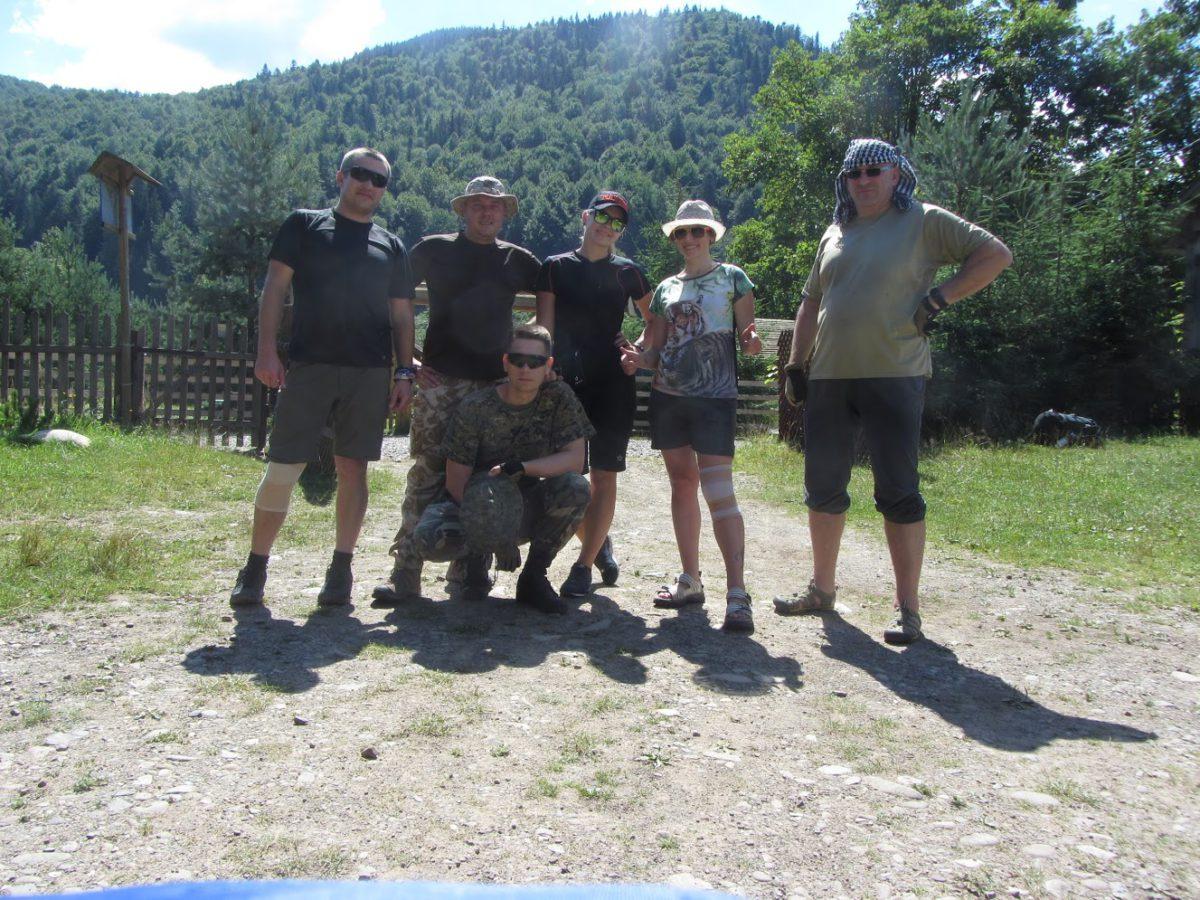 Поход в Карпаты 2016 (день первый)
